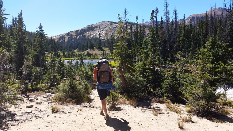 Backpacking Rawah Wilderness Colorado