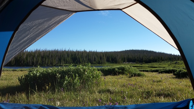 Rawah Wilderness Camping