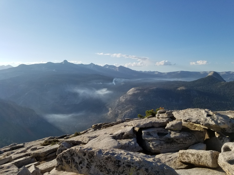 Top of Half Dome Yosemite