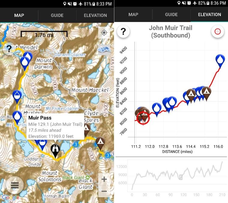 JMT Map App