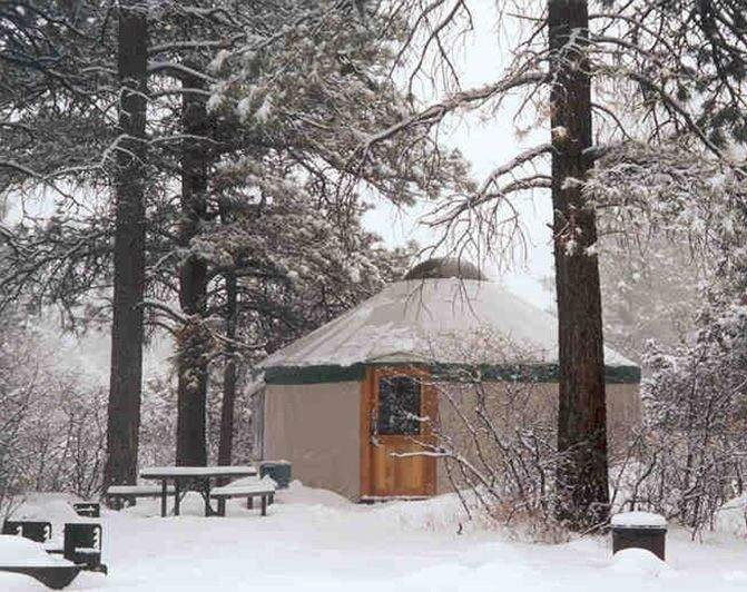 Colorado Yurt