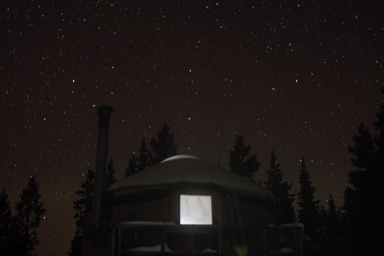 Stars Colorado Yurt