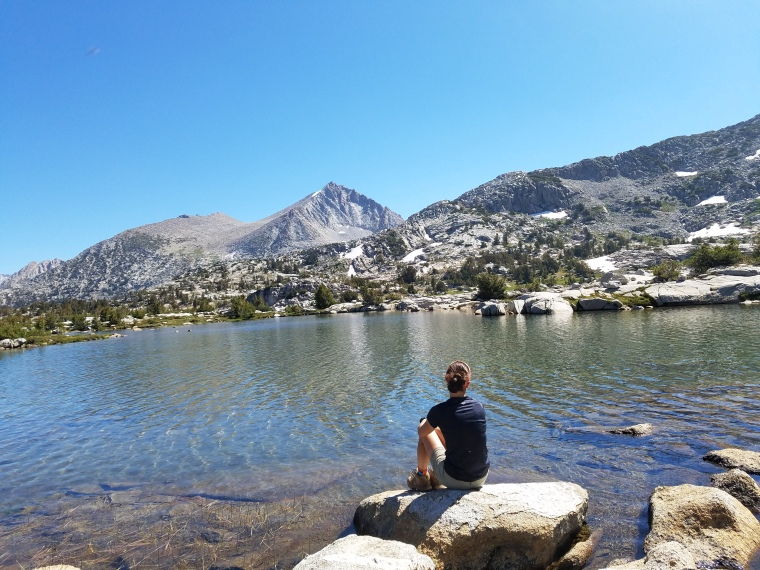 John Muir Trail Marie Lake