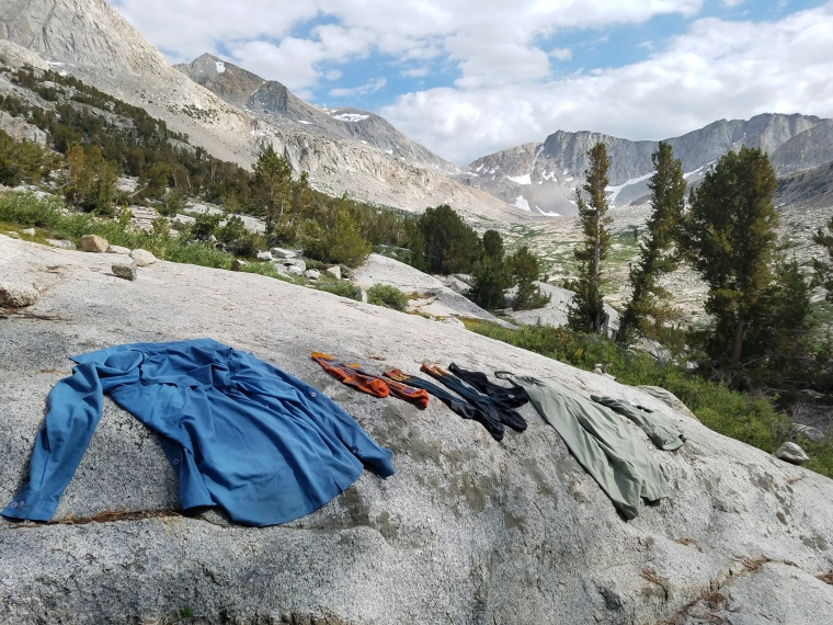 backpacking laundry