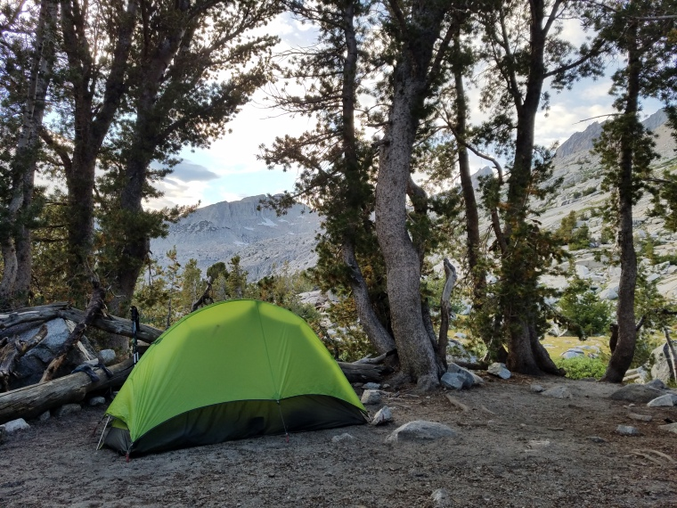 John Muir Trail Camp