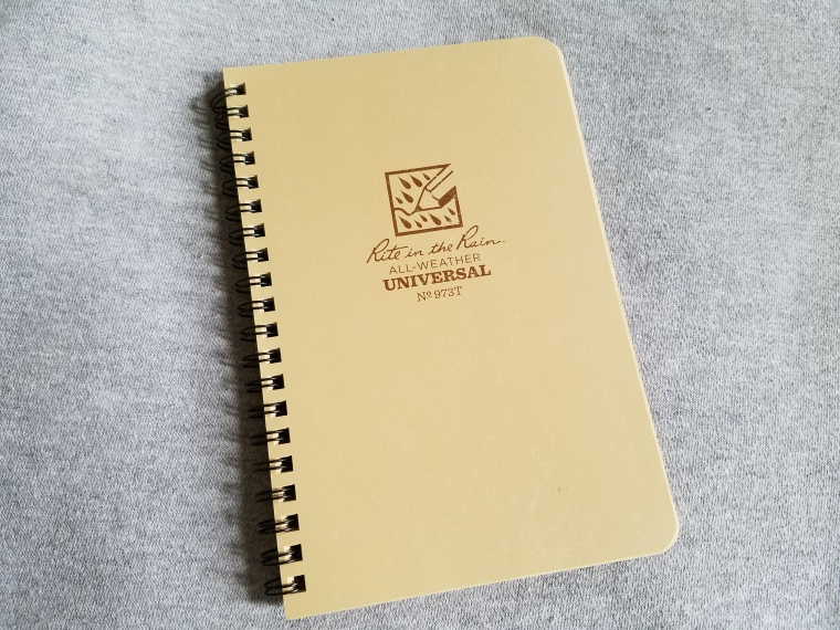 backpacking journal