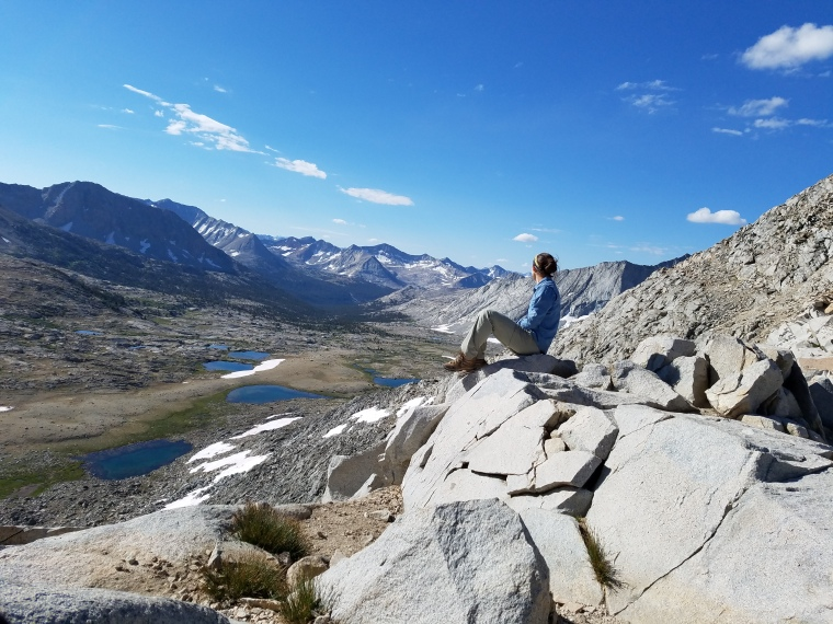 John Muir Trail Mather Pass