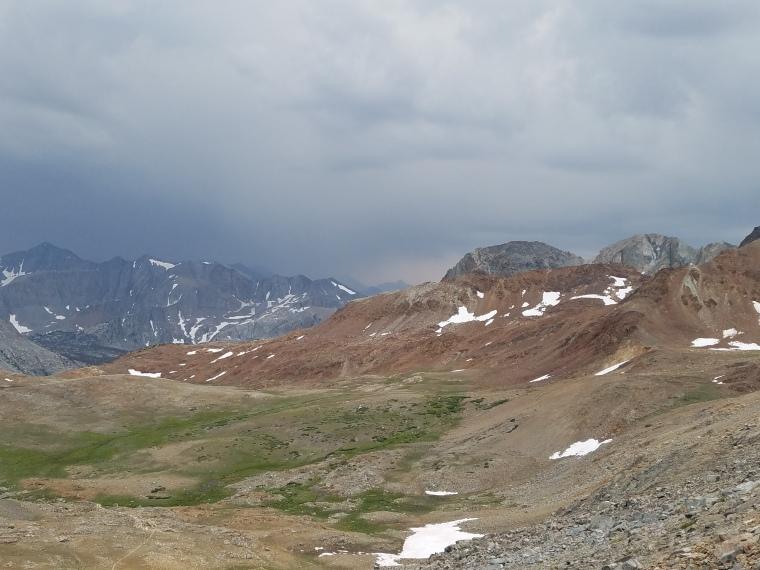 John Muir Trail Pinchot Pass